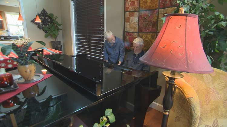Man battling Alzheimer's pairs with pianist to save a life's worth of original songs