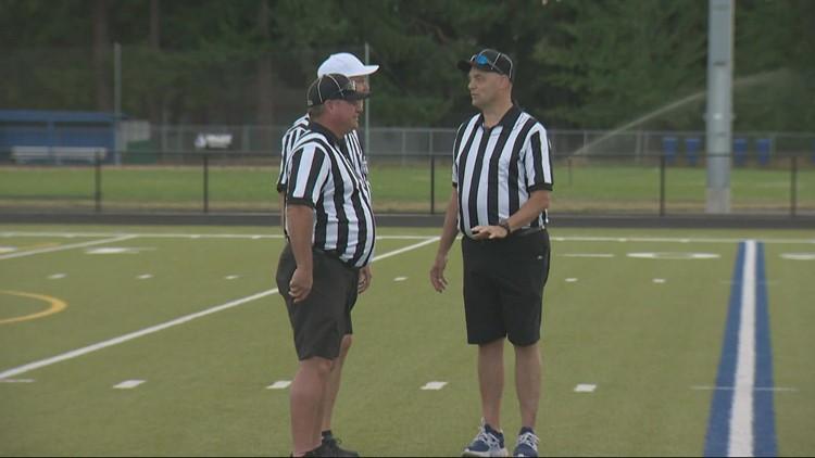 Oregon faces shortage of high school sports officials