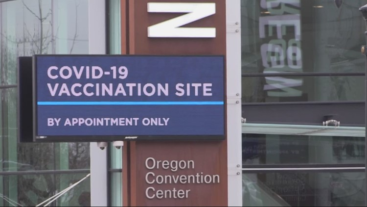 Oregon moves up vaccine eligibility for front-line workers, adults with underlying conditions