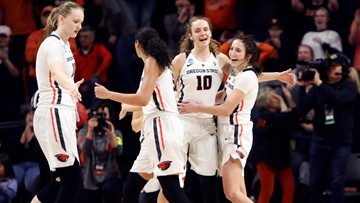 Oregon State women look to upset top-seeded Louisville in Sweet 16: How to watch