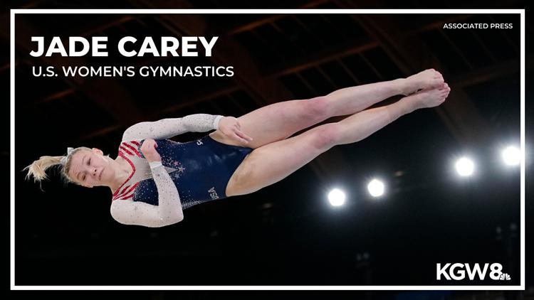 Oregon State gymnast Jade Carey wins gold on floor exercise