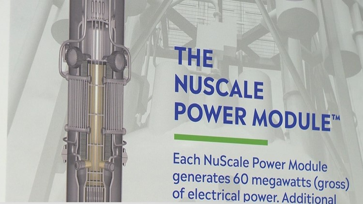 Oregon company designs a different kind of nuclear reactor in Idaho