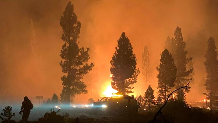 Old updates on wildfires burning in Oregon, Southern Washington
