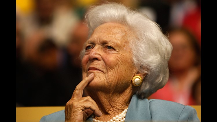 Barbara Bush, 92, is in failing health and has decided not to continue medical treatment, according to the family spokesman.She is surrounded by loved ones at their Houston home while receiving comfort care.
