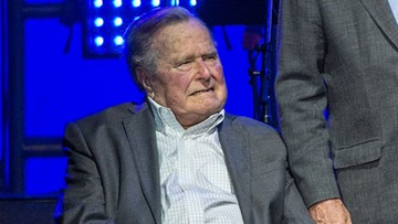 President George H.W. Bush hospitalized for infection