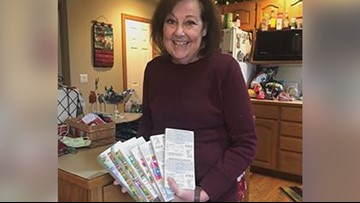 Woman receives thousands of dollars worth of scratch off tickets by mistake