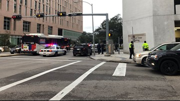 Woman jumps from 10-story building at Texas Medical Center, police say