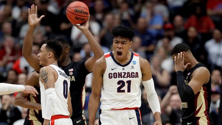 Washington's own Gonzaga are first team to NCAA Elite Eight