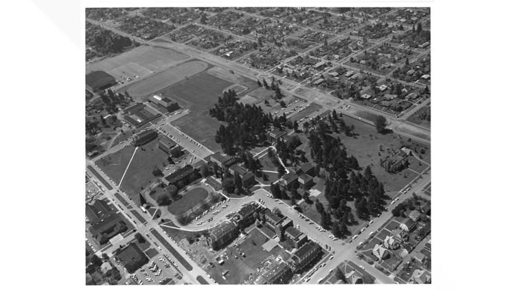 University of Puget Sound Aerial