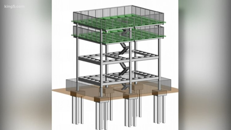 Washington tribe's tsunami evacuation tower could become model for the nation
