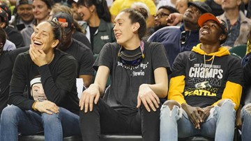 WNBA Champion Seattle Storm reign supreme at victory parade, rally
