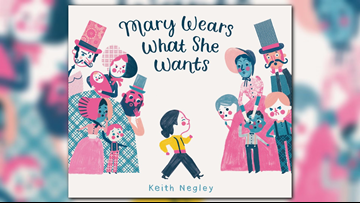 """Best-selling children's author releases new book """"Mary Wears What She Wants"""""""