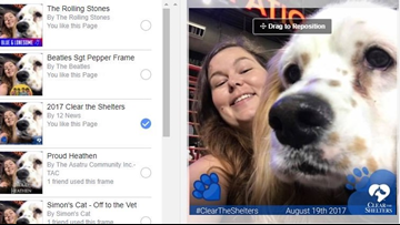 How to change your Facebook profile picture to help 'Clear the Shelters'