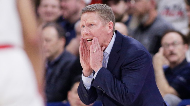 Gonzaga coach Mark Few fined and given community service after pleading guilty to DUI