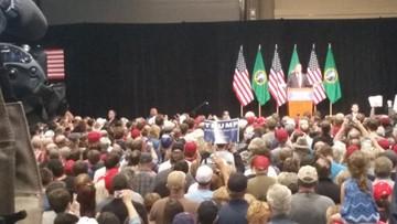 President Trump still owes Spokane $65K for 2016 rally