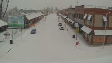 Slick roads after snow showers snarl Monday commute in North Idaho