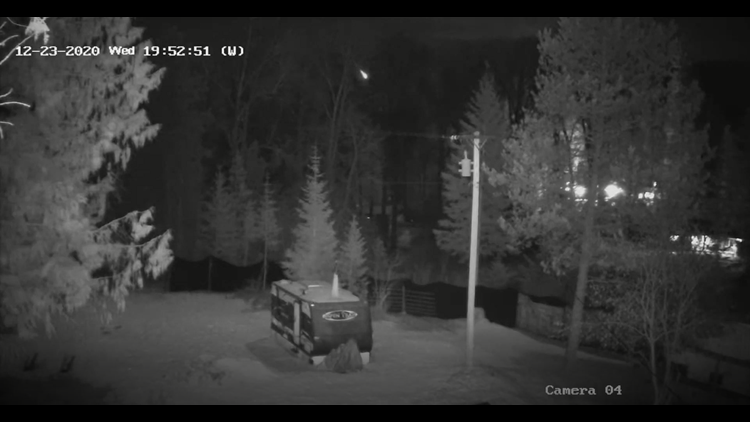 VIDEO: Meteor falls from the sky north of Sandpoint