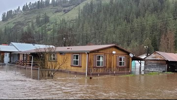 Gov. Little issues state of emergency for Idaho Co. flooding