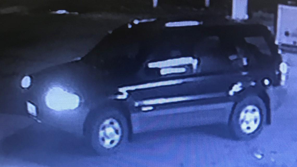 Surveillance video shows shocking hit-and-run crash at Hayden gas station