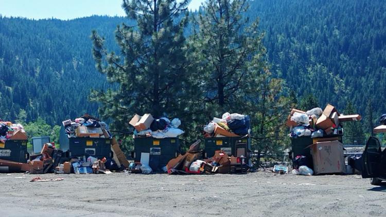 'An epic summer for abuse': Kootenai County staff combat unlawful dumping