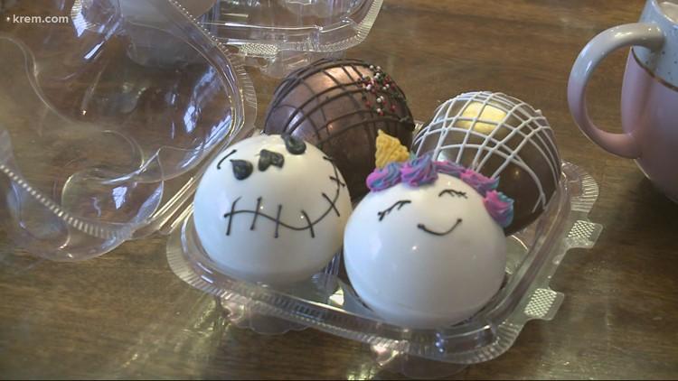 Coeur d'Alene bakery's hot cocoa bomb sales raise $10K for autism nonprofit