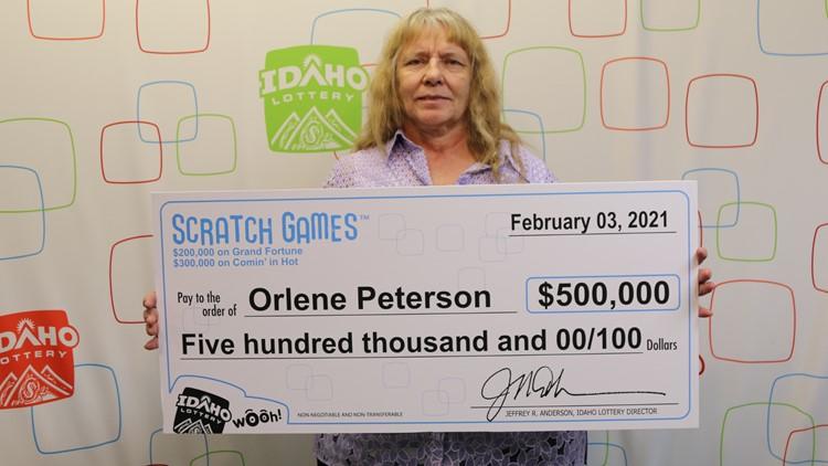 Coeur d'Alene woman wins 2 six-figure lottery prizes in a row