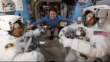 Spokane astronaut Anne McClain takes part in first spacewalk of 2019