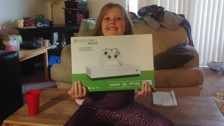 9-year-old Spokane girl receives a new Xbox after Boise woman's fundraiser