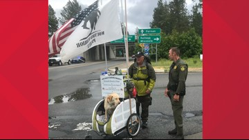 Veteran who walked 2,650 miles will march in Coeur d'Alene July 4th parade