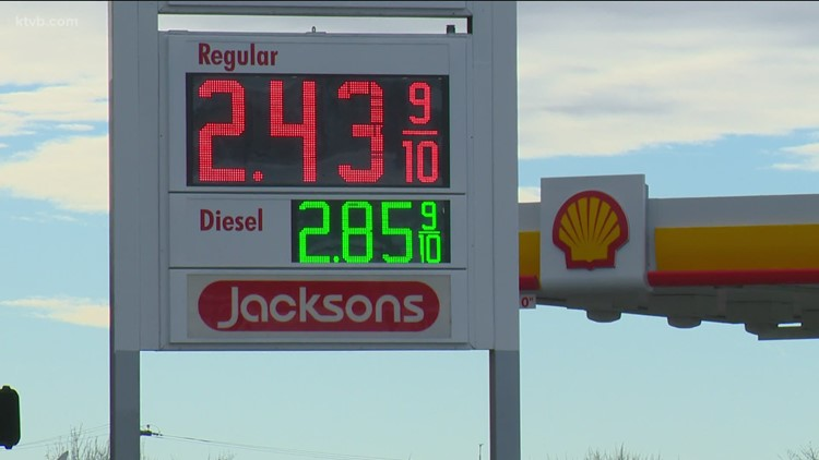 Idaho gas prices jump 20 cents in a month, biggest increase in US
