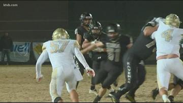Class 4A Idaho high school state football quarterfinal highlights: Kuna Kavemen vs. Vallivue Falcons