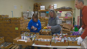 Meridian Food Bank to help federal workers affected by the shutdown