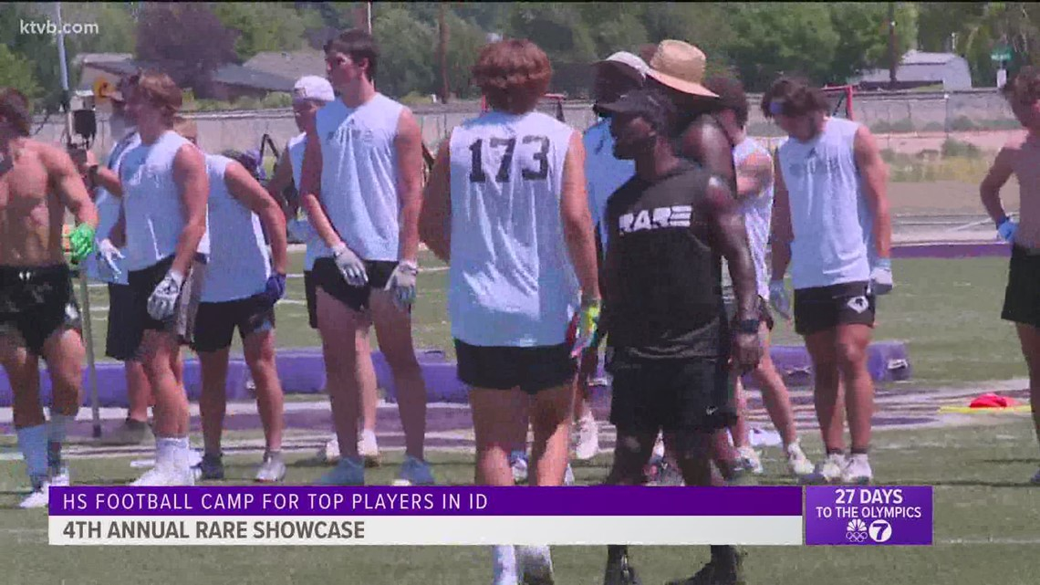 RARE football program aims to bring attention to Idaho's best high school, junior high football players