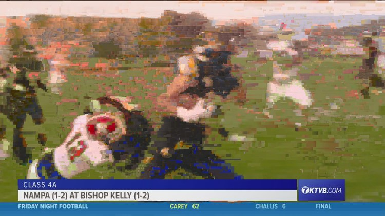 Friday Night Football: Bishop Kelly Knights rout the Nampa Bulldogs