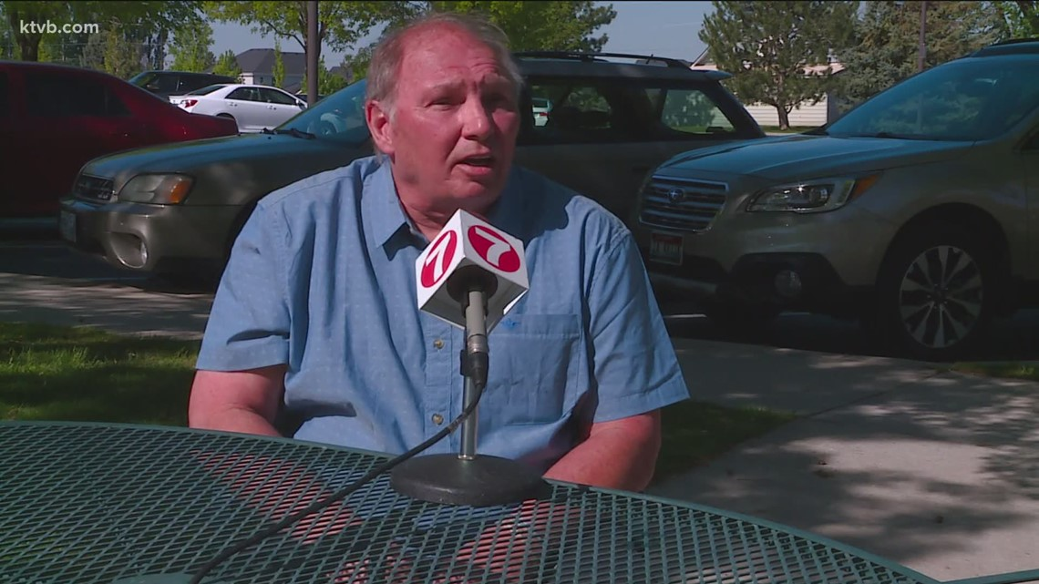 7's Hero: Meridian school custodian saved after having a heart attack in a classroom