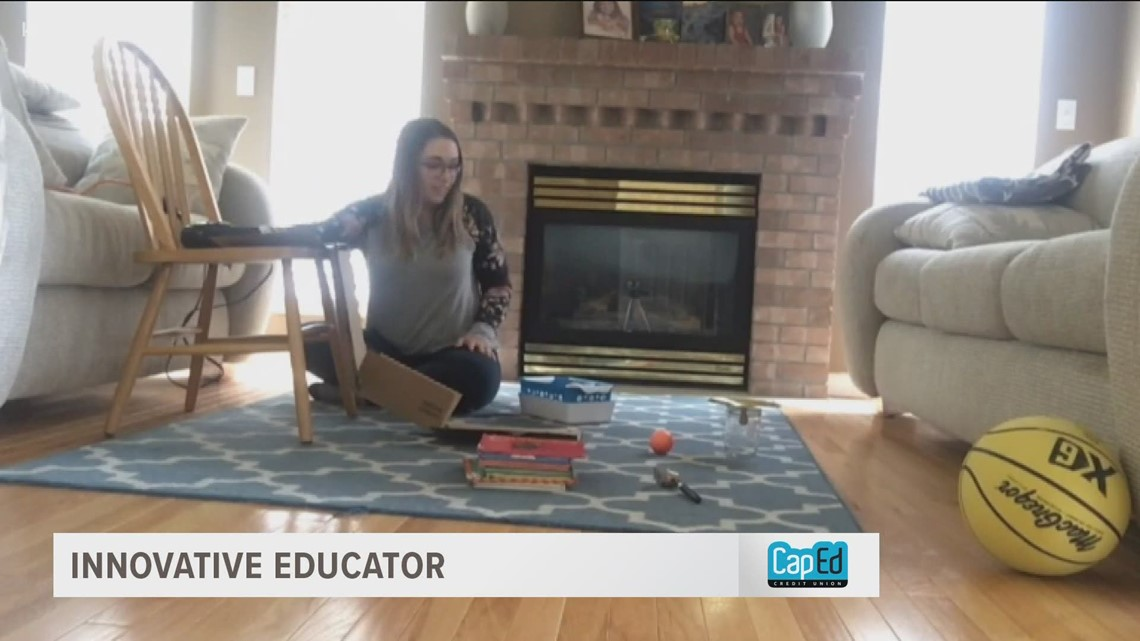 Innovative Educator: Nampa teacher makes the abstract more concrete for her students