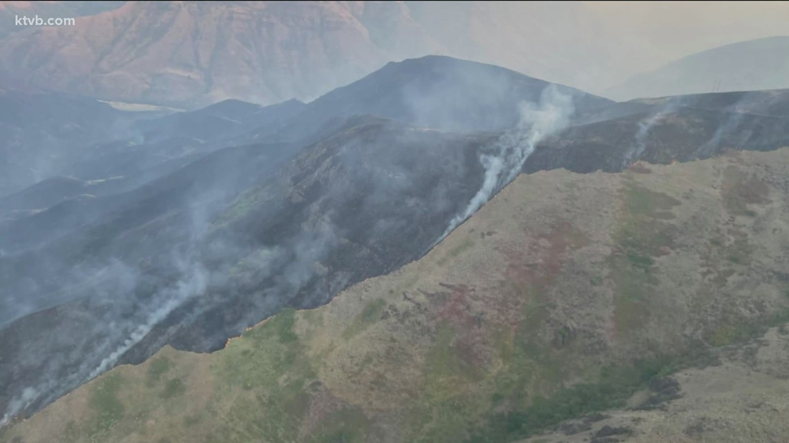 Idaho wildfire update for Friday, July 16