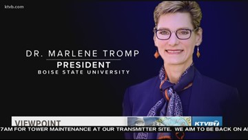 Viewpoint: Dr. Marlene Tromp discusses her vision for the university and the book she's working on