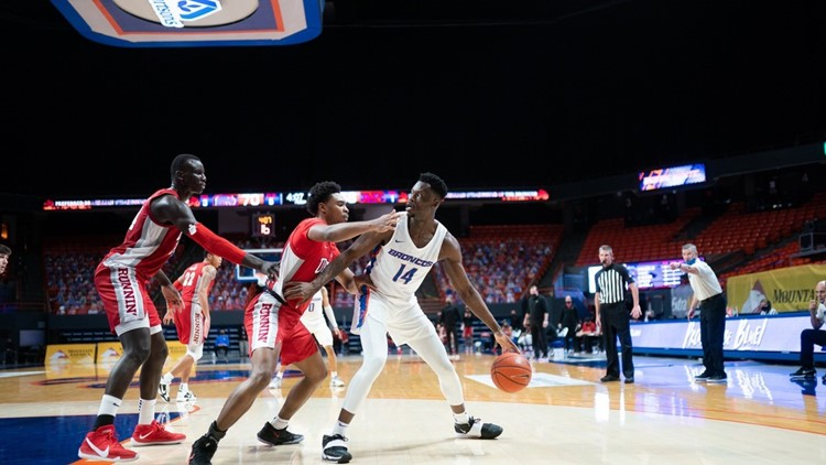 Boise State to allow 900 fans to attend the Broncos' next men's basketball game