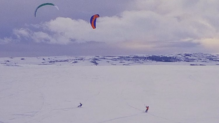 'We'd love to keep this place secret': Why southern Idaho's Camas Prairie provides perfect conditions for snowkiting