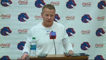 Boise State coach Bryan Harsin breaks down the Broncos' win over Hawai'i