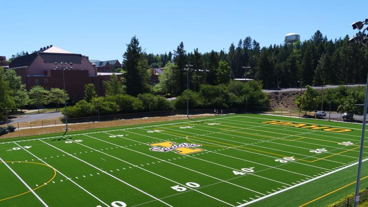 University of Idaho unveils new outdoor turf field