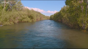 Caution urged near Boise River as fast-moving water levels