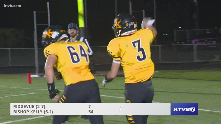Friday Night Football: Bishop Kelly tries to keep their momentum against the Ridgevue Warhawks
