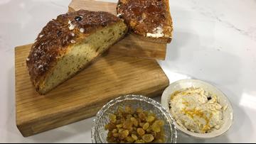 KTVB Kitchen: How to bake Chef Lou's Whiskey Soda Bread with Golden Raisins