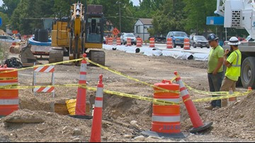 'We're not convenient at this point': Store owner says State and Collister project is costing him business