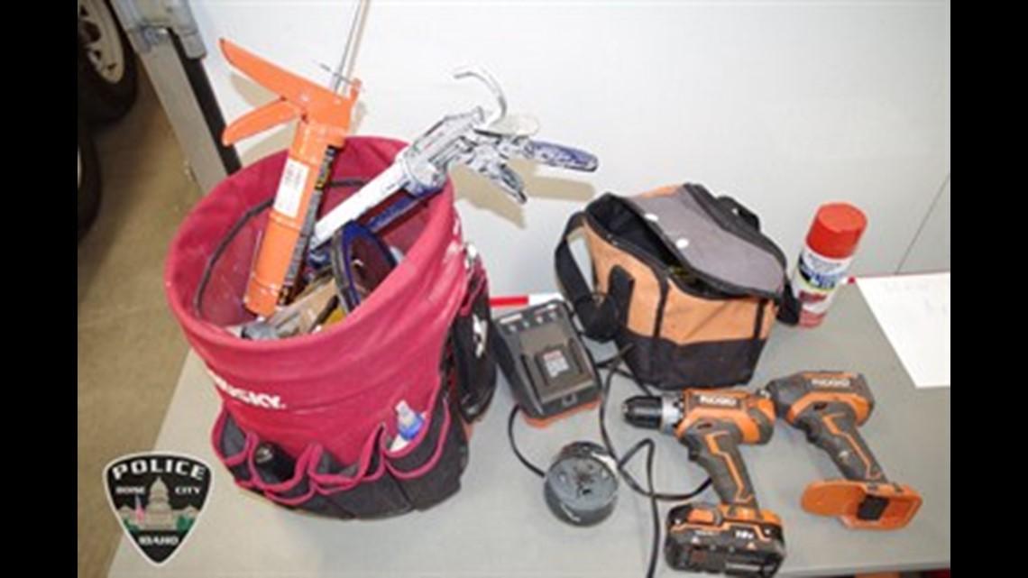 Police find hundreds of stolen items after burglary suspect arrested