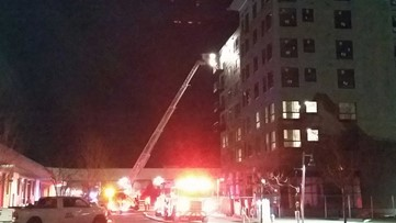 Crews respond to structure fire in downtown Boise