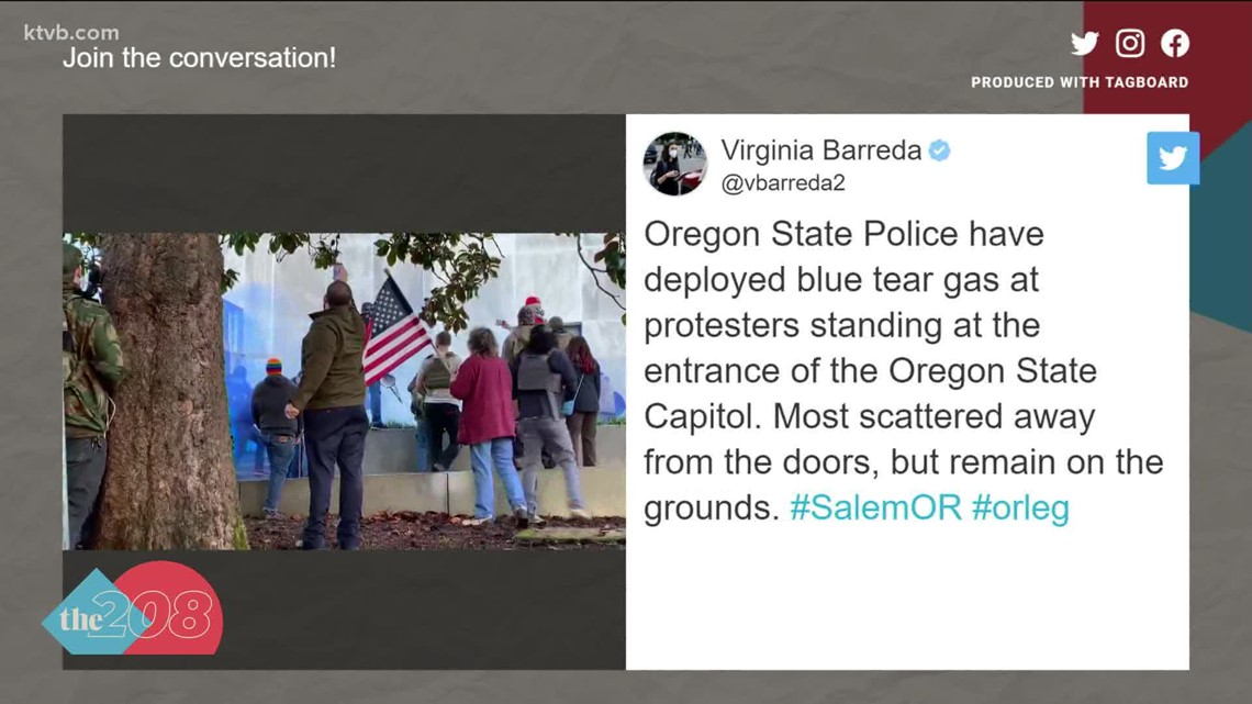 Oregon one-day special session met with protestors