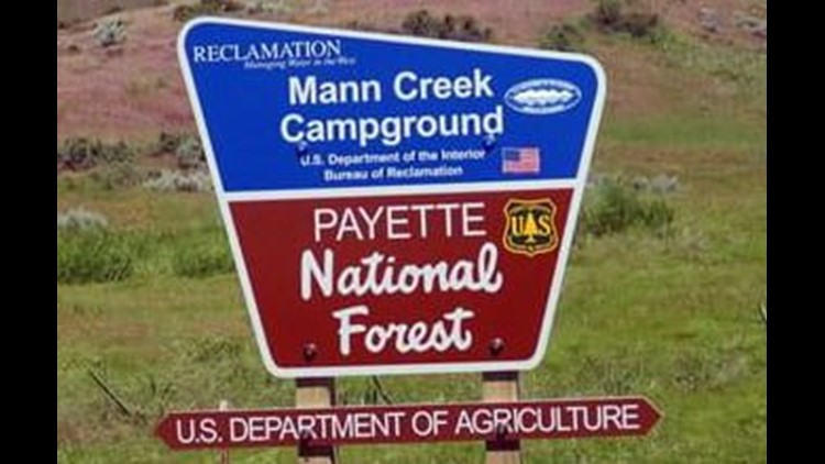 Popular campground near Highway 95 now closed